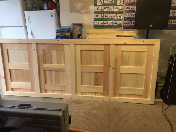 Custom Bedroom Headboard