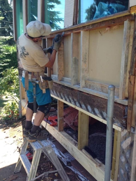 Exterior Porch Renovation